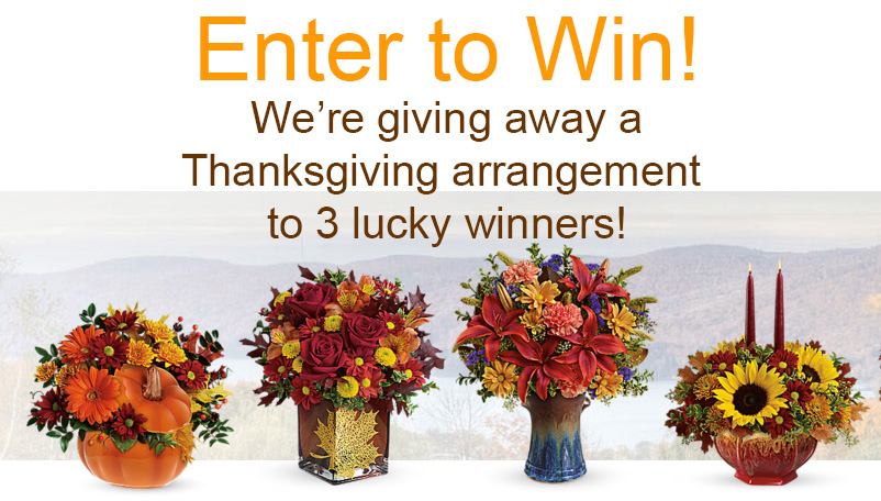 Giveaway! Enter to Win a Thanksgiving Centerpiece!