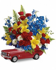 teleflora_65_ford_mustang_bouquet