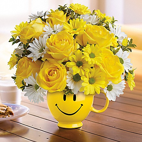 Teleflora Be Happy Bouquet Back to School Flowers