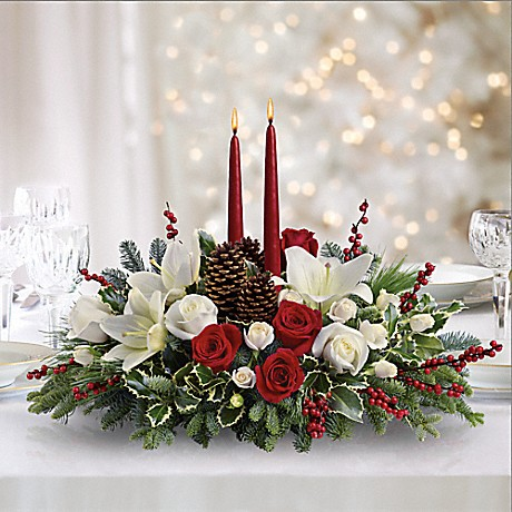 Send a Christmas Wishes Centerpiece to Long-Distance Loved Ones as Gifts