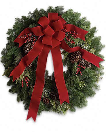 Shop classic Christmas wreaths