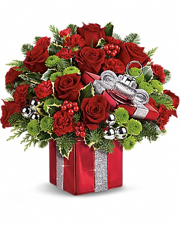 Shop Teleflora's Gift Wrapped bouquet
