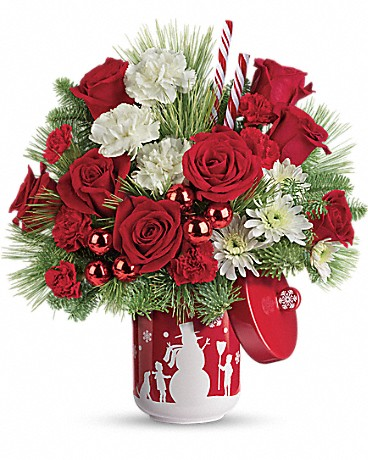 Shop Teleflora's Snow Day bouquet