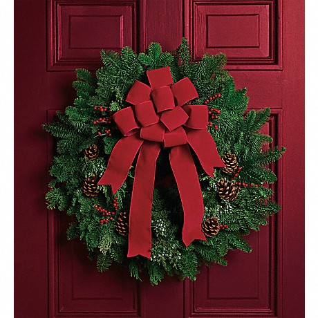 Shop Teleflora's Classic Holiday Wreath