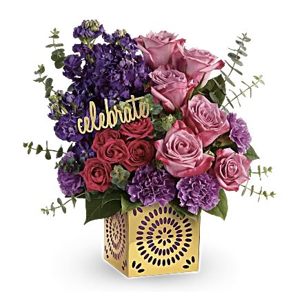 Teleflora Thrilled for You Bouquet