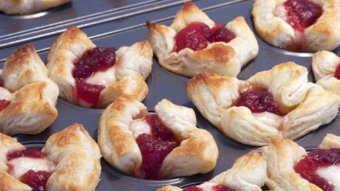 cranberry and brie appetizers