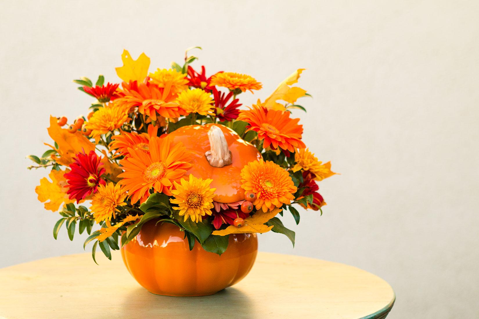 Diy Pumpkin Centerpieces For Halloween