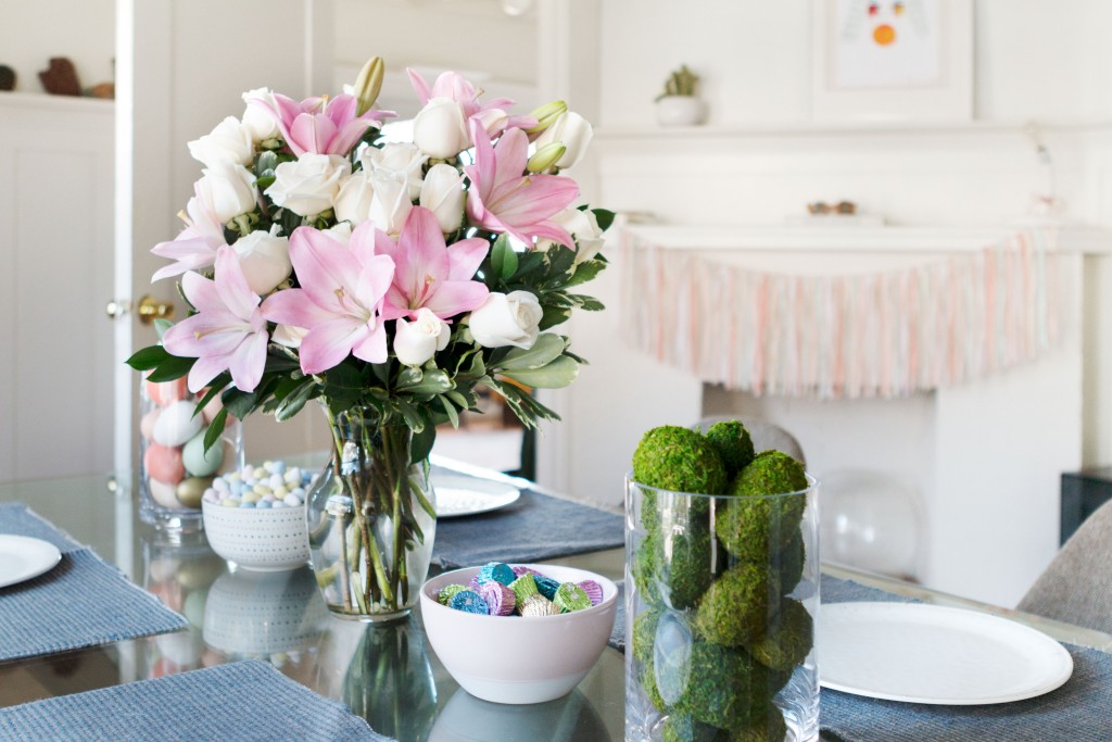 Cheap Home Decorating Crafts: DIY Easter Centerpieces For The Table