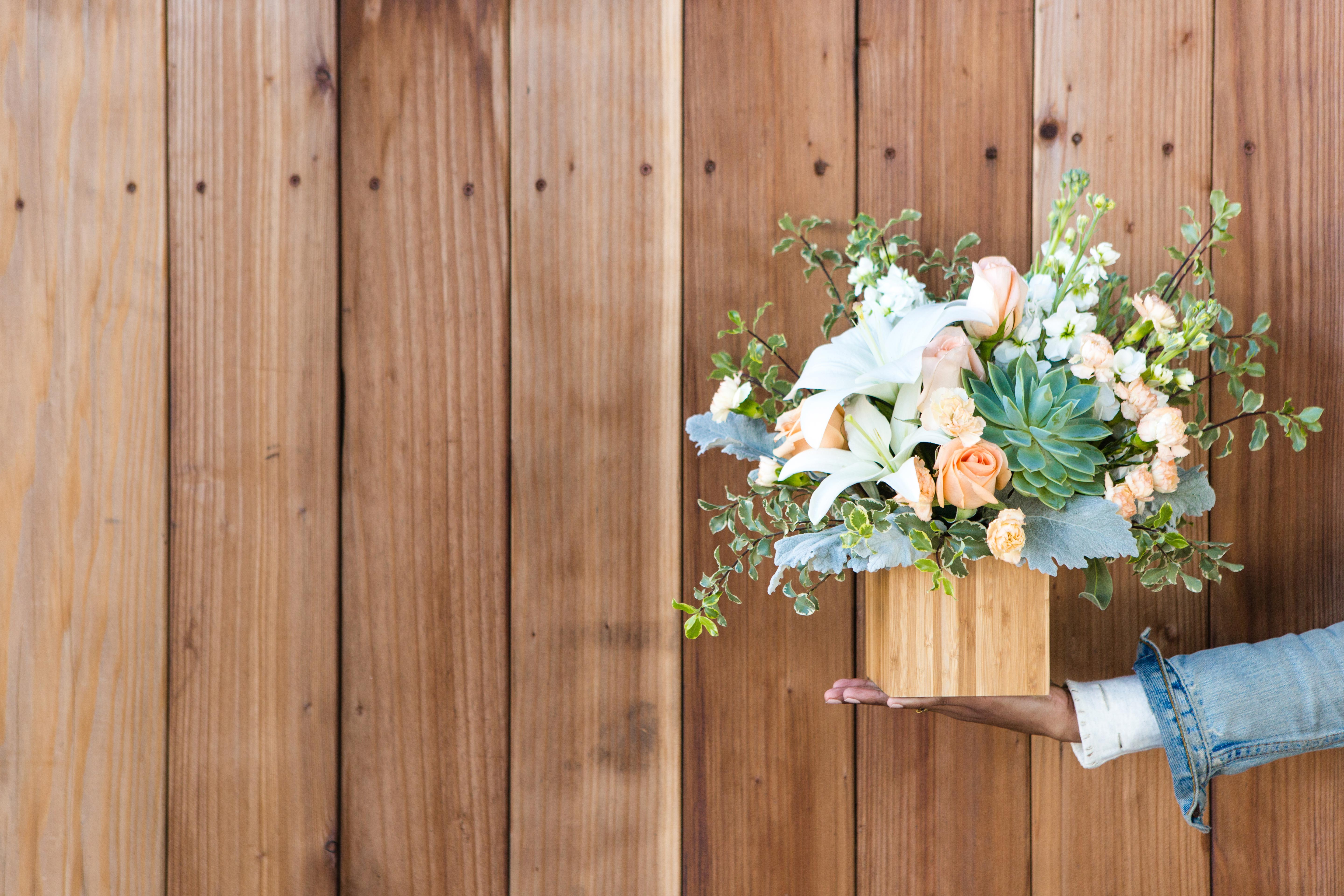 Going Beyond The Traditional Flower Bouquet With Succulents