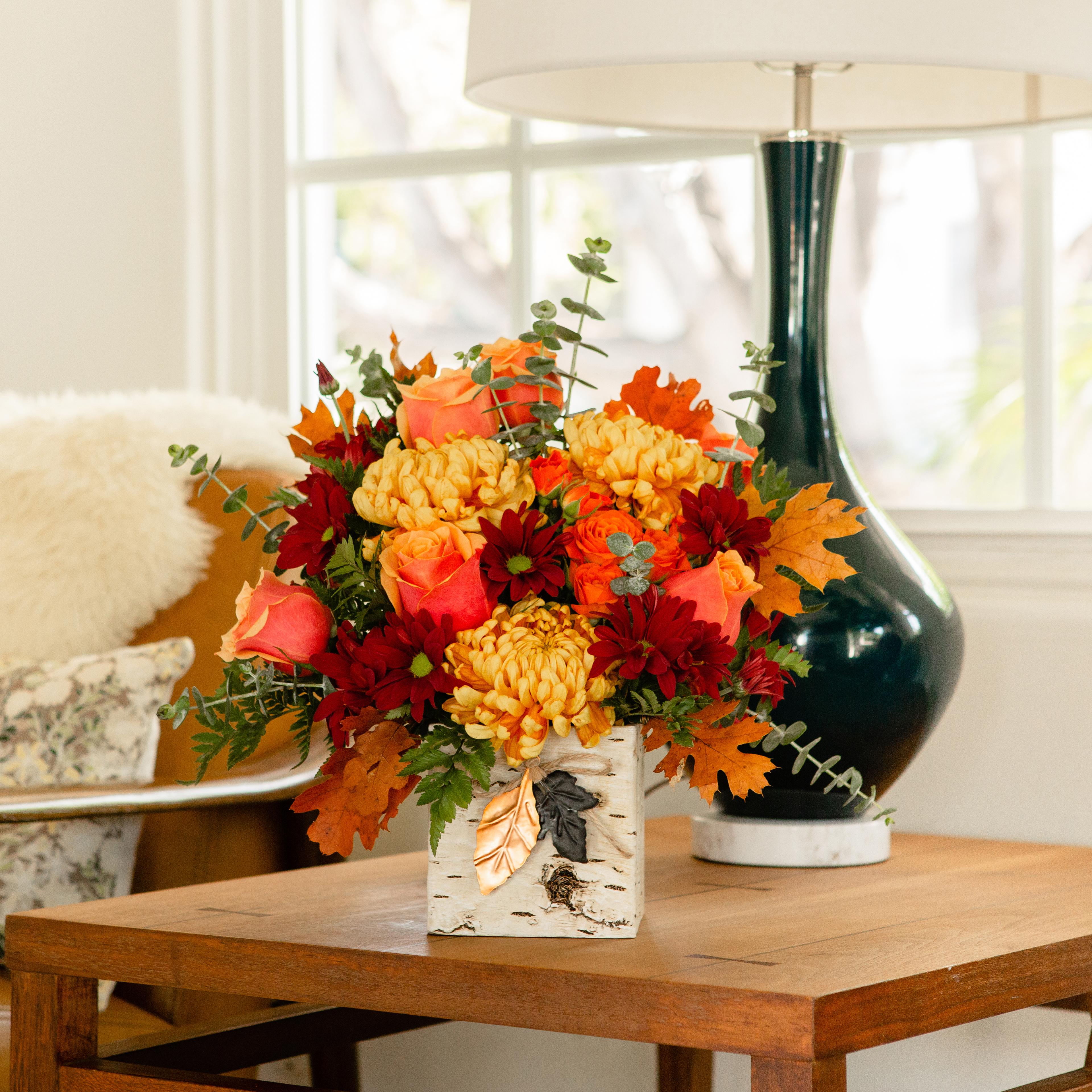 Composition Florale Centre De Table Automne fleurs de magnifique automne qui apportent octobre � l